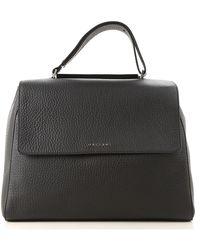 Orciani - Top Handle Handbag On Sale - Lyst
