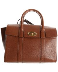 154a7ba594 Lyst - Mulberry Chester Handbag in Brown