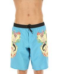 Versace - Swim Shorts Trunks for Men In Outlet - Lyst