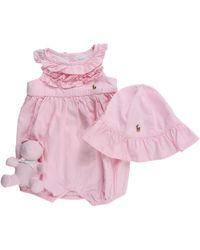 Ralph Lauren - Baby Sets For Girls On Sale - Lyst
