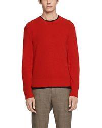 Rag & Bone - Kaden Rib Knit Cashmere Pullover - Lyst