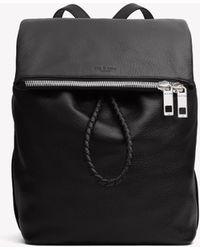 Rag & Bone - Black Loner Backpack - Lyst