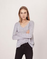Rag & Bone - Theo Long Sleeve Tee - Lyst