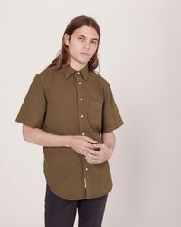 Rag & Bone - Standard Issue Short Sleeve Beach Shirt - Lyst