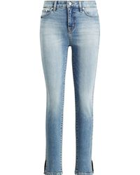 Ralph Lauren - Regal Straight Ankle Jean - Lyst