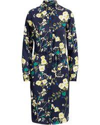 Ralph Lauren - Floral-print Twill Shirtdress - Lyst