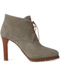 Ralph Lauren - Wynter Suede Boot - Lyst