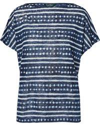 Ralph Lauren - Tie-dye Linen Knit Top - Lyst