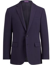 Ralph Lauren Purple Label - Wool Serge Sport Coat - Lyst