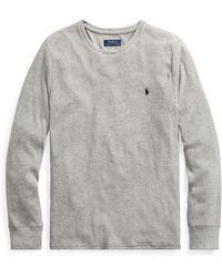Polo Ralph Lauren - Waffle-knit Sleep T-shirt - Lyst