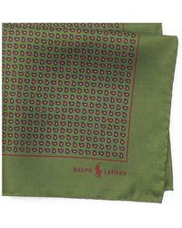 Polo Ralph Lauren - Neat Silk Twill Pocket Square - Lyst
