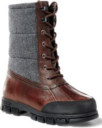 Pink Pony - Quinlyn Leather Snow Boot - Lyst