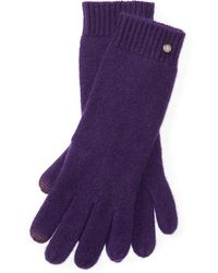 Pink Pony - Cashmere Touch Screen Gloves - Lyst