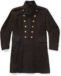 RRL - Limited-edition Suede Coat - Lyst