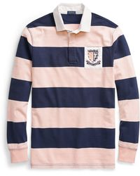 Ralph Lauren - Pink Pony Jersey Rugby Shirt - Lyst