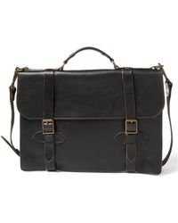 RRL - Leather Corbin Briefcase - Lyst