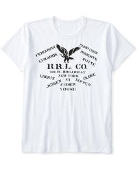 Ralph Lauren · RRL | Cotton Jersey Graphic T-shirt | Lyst