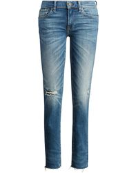 Polo Ralph Lauren - Tompkins Frayed Skinny Jean - Lyst