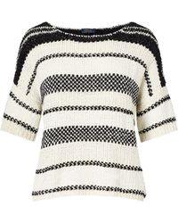 Polo Ralph Lauren | Boxy Cotton-blend Sweater | Lyst