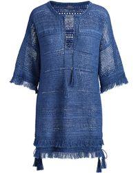 Polo Ralph Lauren - Linen Tunic Sweater - Lyst