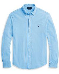 Polo Ralph Lauren - Featherweight Mesh Shirt - Lyst