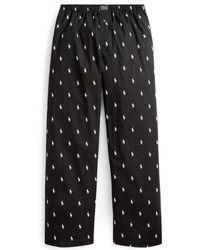 Pants Printed Pony Cotton Printed Pajama MUpSzV