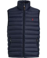 Polo Ralph Lauren - Packable Down Vest - Lyst