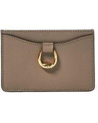 Ralph Lauren - Leather Card Case - Lyst