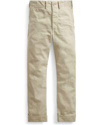 RRL - Cotton Chino Pant - Lyst