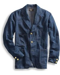 RRL - Cotton-hemp Denim Sport Coat - Lyst