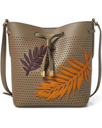 Ralph Lauren - Leaf Debby Ii Drawstring Bag - Lyst