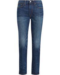 Polo Ralph Lauren - Waverly High-rise Crop Jean - Lyst