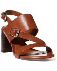 Ralph Lauren - Florin Vachetta Leather Sandal - Lyst