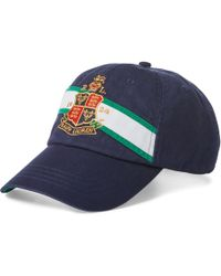 Polo Ralph Lauren - Cotton Chino Baseball Cap - Lyst