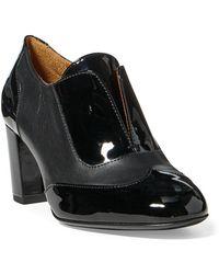 Ralph Lauren - Loela Patent-calfskin Boot - Lyst