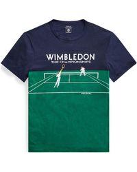 Polo Ralph Lauren - Wimbledon Custom Slim T-shirt - Lyst