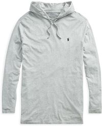 Pink Pony - Cotton Jersey Hooded T-shirt - Lyst