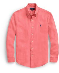 Polo Ralph Lauren - Slim Fit Ocean-wash Shirt - Lyst