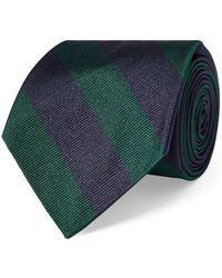 Polo Ralph Lauren - Striped Silk Twill Narrow Tie - Lyst