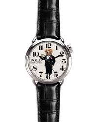 Ralph Lauren - Polo Martini Bear Watch - Lyst
