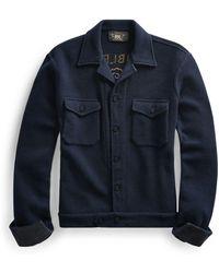 RRL - Wool-blend Workshirt - Lyst