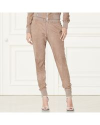 Pink Pony - Taryn Suede Jogger Pant - Lyst