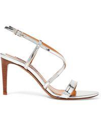 Ralph Lauren - Arissa Specchio Leather Sandal - Lyst
