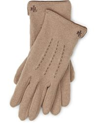 Pink Pony - Wool-blend Touch-screen Gloves - Lyst