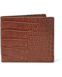 Pink Pony - Burnished Alligator Wallet - Lyst