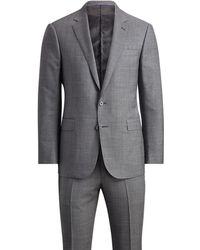 Ralph Lauren Purple Label | Anthony Wool Sharkskin Suit | Lyst