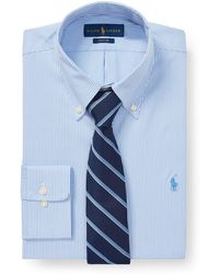66acafb3ae813b Polo Ralph Lauren Classic-Fit Oxford Shirt in Orange for Men - Lyst