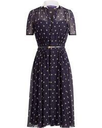 Ralph Lauren - Maizie Short Dress - Lyst