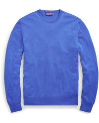 Ralph Lauren Purple Label - Cashmere Crewneck Sweater - Lyst