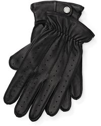 Polo Ralph Lauren | Perforated Leather Gloves | Lyst